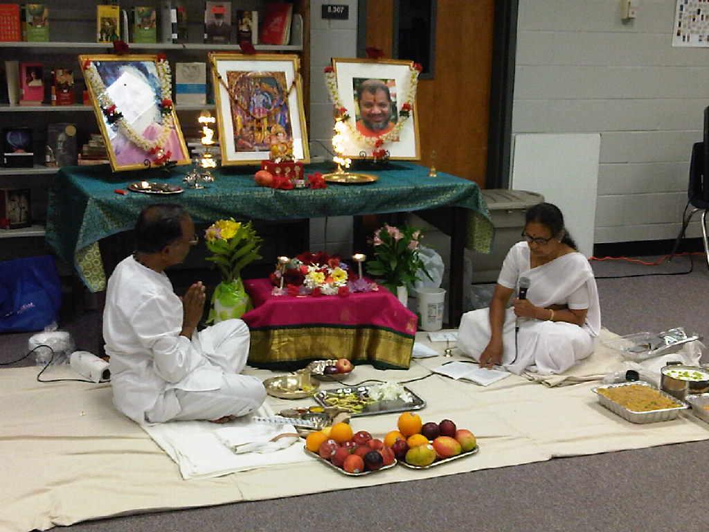 Opening Day Paduka Puja 2012