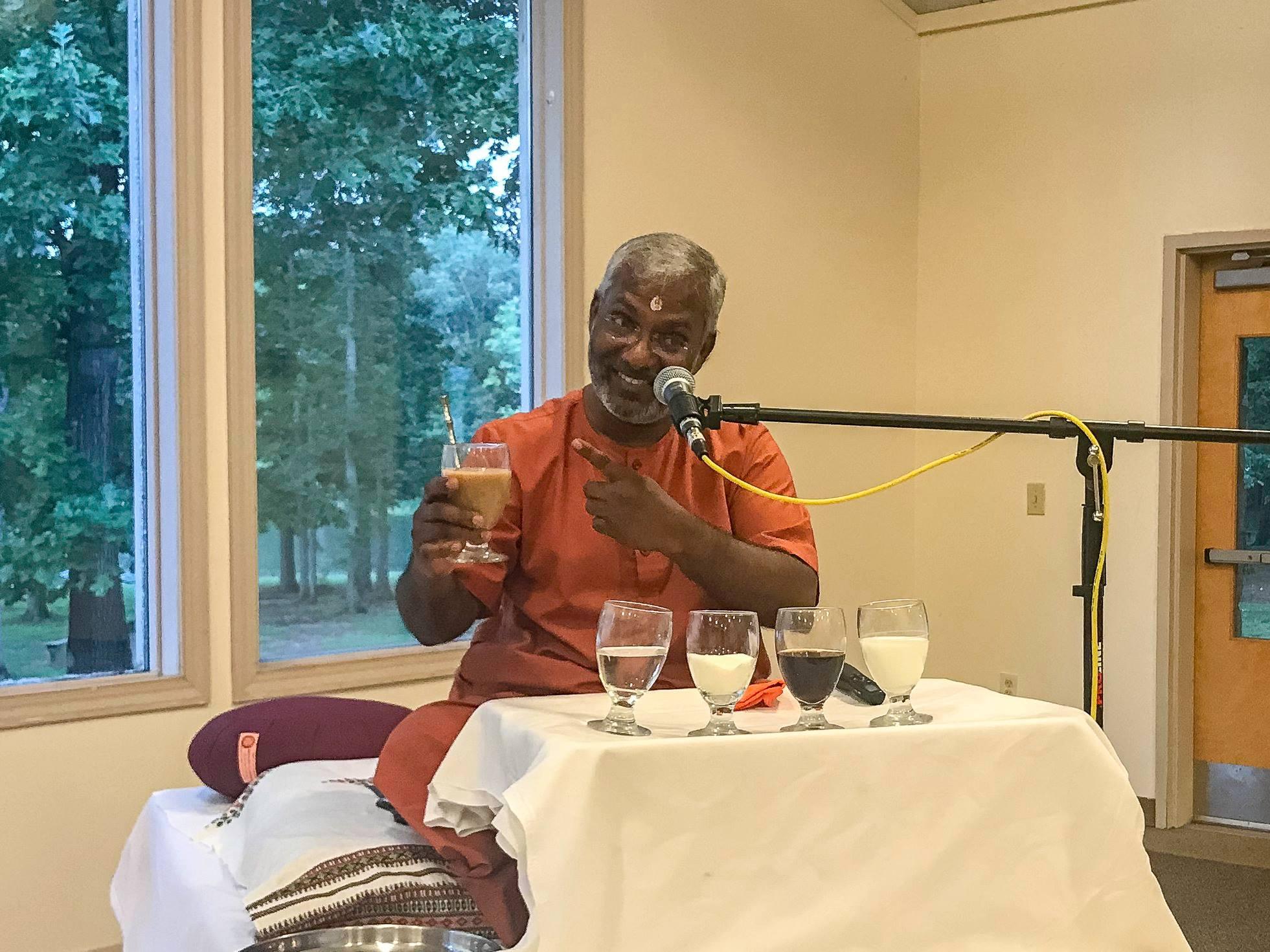 swamiji talk